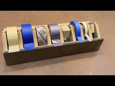 Homemade Multi Tape Dispenser