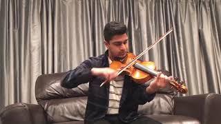 Inji Iduppazhagi Violin Cover