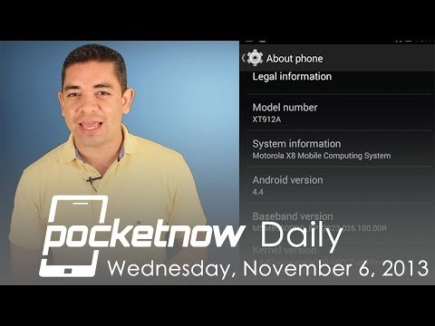 Android 4.4 leaked on Moto X, Microsoft CEO list, Samsung tech roadmap & more - Pocketnow Daily