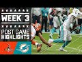 Browns vs. Dolphins | NFL Week 3 Game Highlights