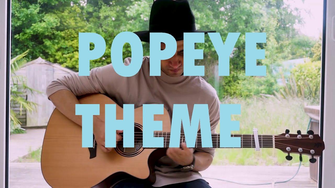 Guitar Tabs - Popeye Theme Song (Popeye The Sailor Man ... |Popeye Guitar