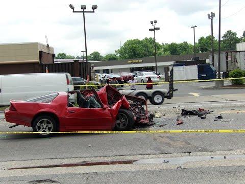 Car vs truck - Portsmouth, VA(Aftermath)
