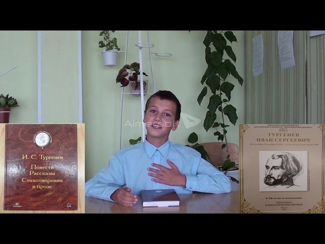 Изображение предпросмотра прочтения – ДанилИванилов читает произведение «Стихотворение в прозе. Два богача» И.С.Тургенева