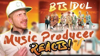 Music Producer Reacts to BTS (방탄소년단) 'IDOL' Official MV