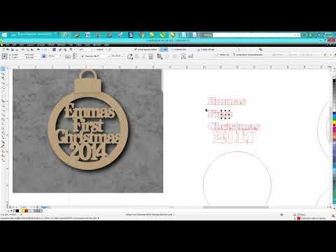 Corel Draw Tips & Tricks Ornament with a twist