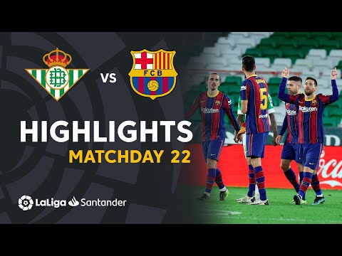 Betis Barcelona Goals And Highlights
