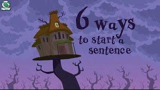 Writing Tips: 6 Ways to Start a Sentence
