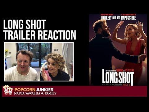 Long Shot Trailer #2 – Nadia Sawalha & The Popcorn Junkies Movie Reaction