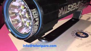 Modifica Torcia Fa&Mi Superstar 50 da alogena a LED