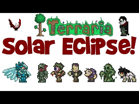 Terraria SOLAR ECLIPSE SURPRISE! (1.3 PC Gameplay)