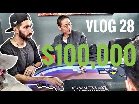 $100K Bad Beat Jackpot @ Commerce Casino?! | Poker VLOG 28