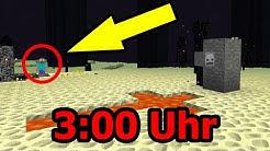SPIELE NIEMALS UM 3:00UHR NACHTS MINECRAFT