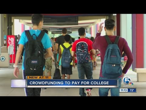 How to be successful crowdfunding for college