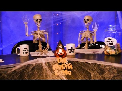 MEDIA ZONE 10-27-2015 SCOUTS GUIDE ZOMBIE Movie Review ~ Halloween Show
