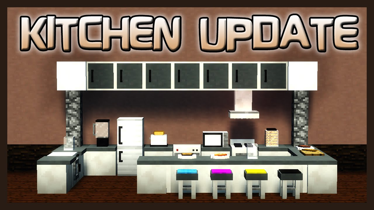 MrCrayfish's Furniture Mod Showcase: Kitchen Update! - YouTube