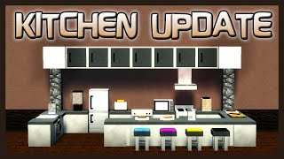 Mrcrayfish's Furniture Mod Showcase: Kitchen Update!