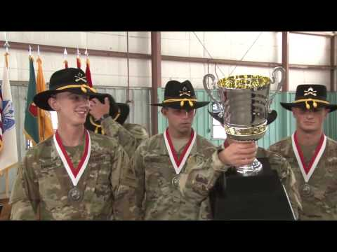 1st Squadron, 1st Cavalry Regiment, 1st Armored Division Team Named 2017 Gainey Cup Champions