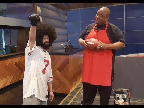 Jason Whitlock, Christopher Reid aka Kid and the Colin Kaepernick Skit