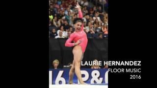 Laurie (Lauren) Hernandez - Floor Music 2016 | OFFICIAL