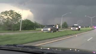 Tornado NW of Shawnee, OK 19/05/13