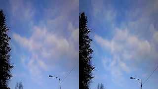 4D SÄÄ 09:42 19.2.2014 VIHDOINKIN SININEN TAIVAS NÄKYY SAUNAVAARA