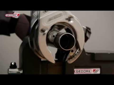 Gedore Ratcheting Pipe Cutter Niro - No. 224