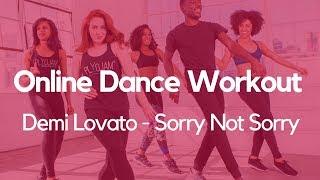 PlyoJam Cardio Dance Workout | Sorry Not Sorry | Demi Lovato