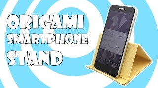 Origami📱Smartphone Stand/Holder Tutorial (Origamite)