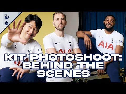 BEHIND THE SCENES | 2020/21 kit photoshoot ft. Heung-min Son, Harry Kane & Japhet Tanganga!