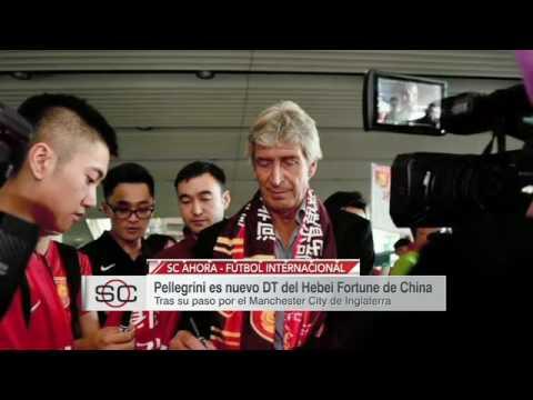 #SCA - Manuel Pellegrini llega a China..