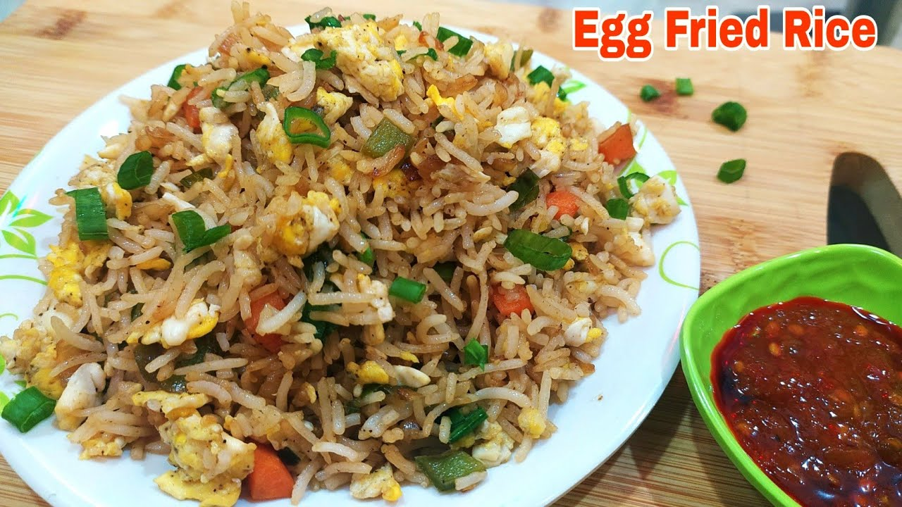 Tasty and quick egg Fried Rice   how to make chinese egg fried rice   Chinese rice recipe
