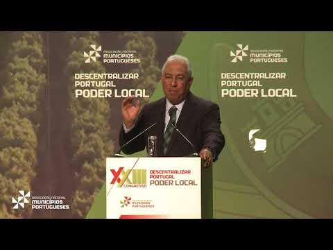 Intervenção de António Costa na abertura do XXIII Congresso da ANMP
