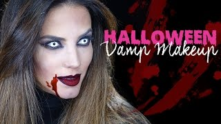 HALLOWEEN VAMP MAKEUP | GABY ESPINO TV