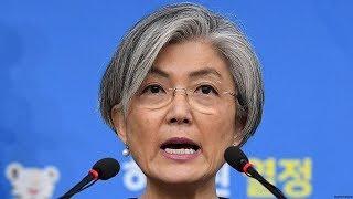 韓国外相、日本政府に支援を要求…