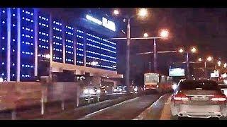 Вечерний Барнаул: проезд по городу