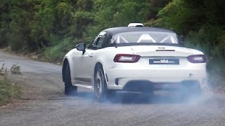 """الفيديو"" شاهد اختبار سرعة وصوت ""فيات"" 124 ابارت FIAT 124 ABARTH"