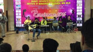 Concert show in BVPD College of MBA (solo song)