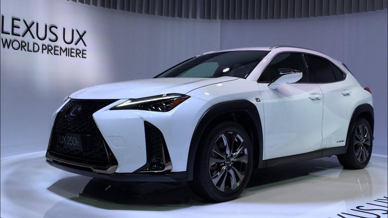 2018 Lexus Ux Crossover World Debut Walkaround At Geneva Motor Show