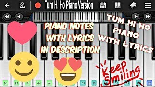 Tum Hi Ho Piano Version | Piano Music | Arijit Singh | Valentine's Day Special | Piano Version