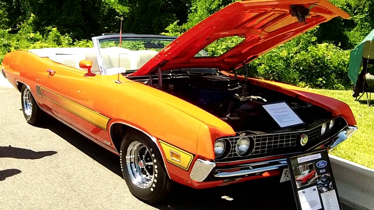 1970 Ford Torino Convertible 351c Youtube