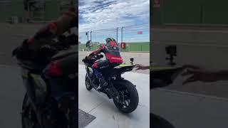 Yamaha R1 at Tazio Nuvolari 🔥