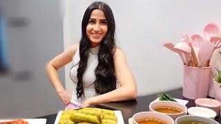 الشيف تالين طبخت محاشي وعملت تحدي !!