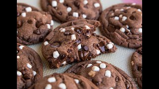 Hot Chocolate Cookies or Hot Cocoa Cookies