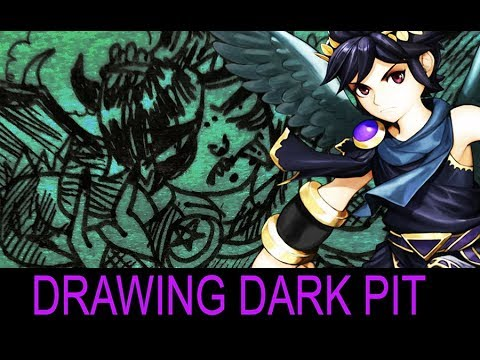Drawing Dark Pit Youtube