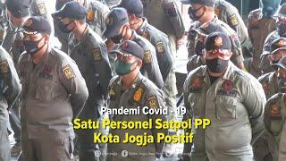 Satu Personel Intelejen Satpol PP Kota Jogja Positif Covid-19