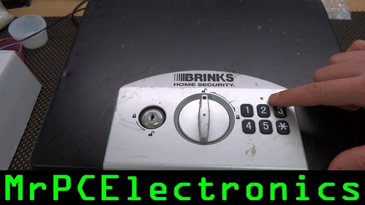 Brinks Security Lock Box Quotno Key Programing Lock Code
