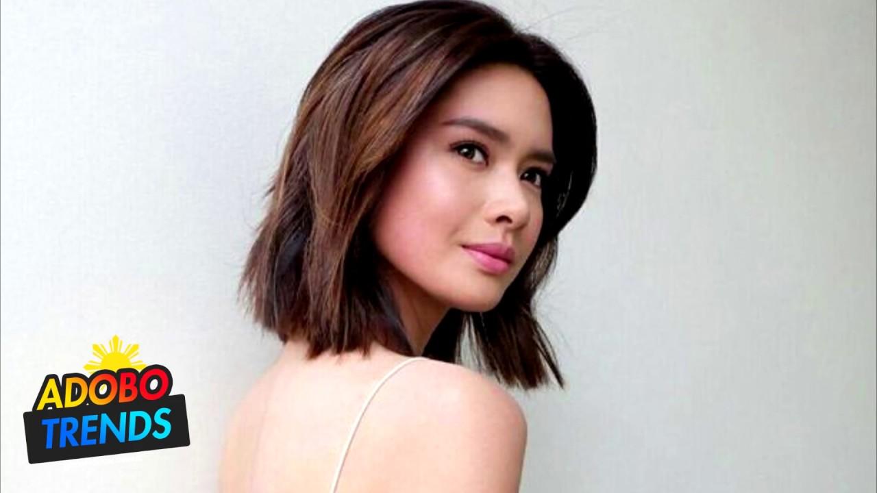 filipino female celebrities with short hair