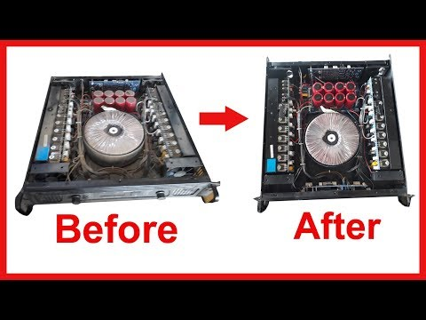 How to clean power amplifier (Hindi)