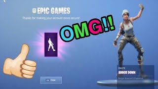 How to get boogie down emote in Fortnite ps4:)