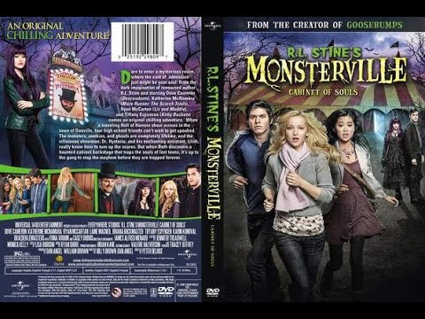 R.L. Stine's Monsterville: The Cabinet of Souls (2015) Movie ...